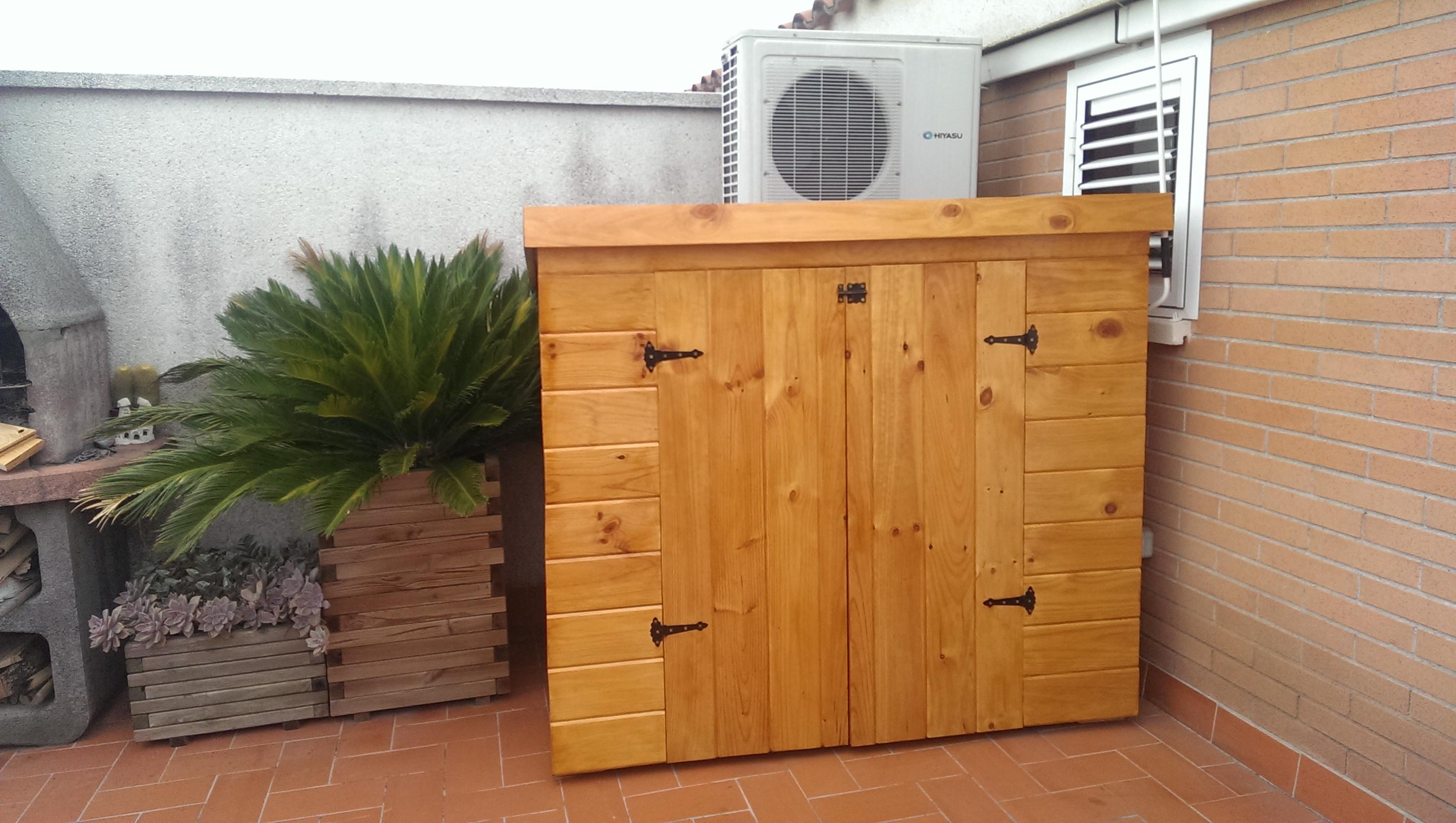 Caseta de madera - Caseta madera exterior ...